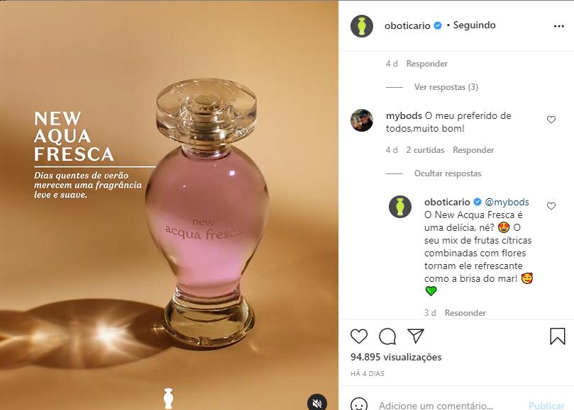 love brand boticário