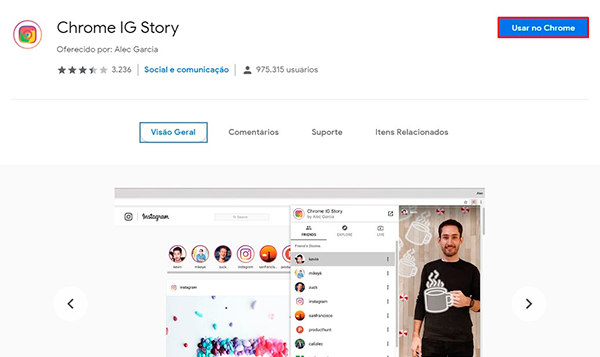 Como baixar vídeos do Stories do Instagram